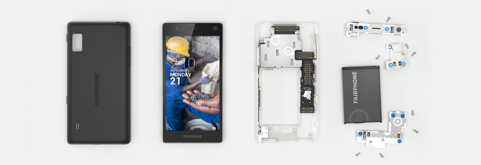 Fairphone 2 - modulare Bauweise