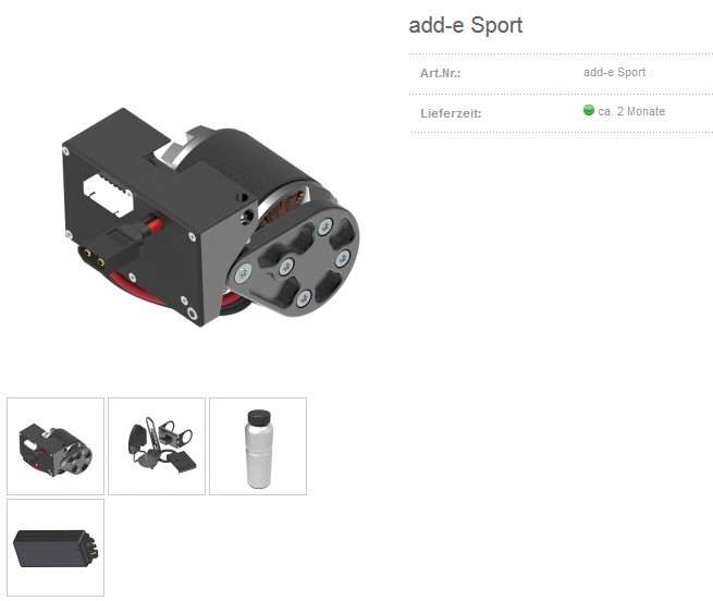 add-e E-Bike Set