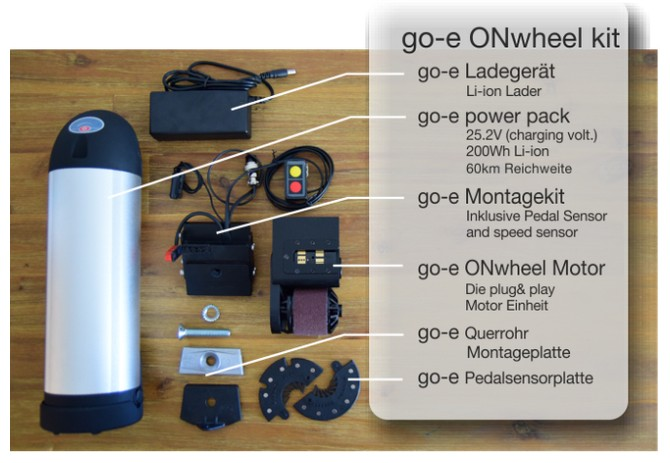 go-e E-Bike Set