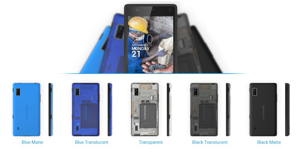 Fairphone 2 bunte Cover
